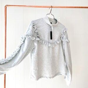 NWT Buffalo Ruffle Sweatshirt